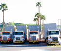 Bowers Transport hauling air handlers for the Children's Hospital of Los Angeles, CA.